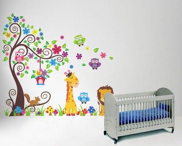Decal dán tường phòng trẻ em