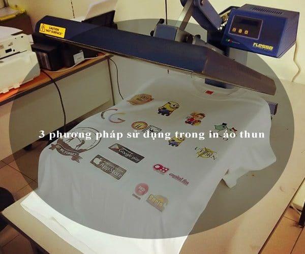 3 phương pháp sử dụng trong in áo thun 5