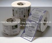 Chất lượng, thẩm mỹ, ứng dụng rộng rãi, giá thành tốt là decal giấy