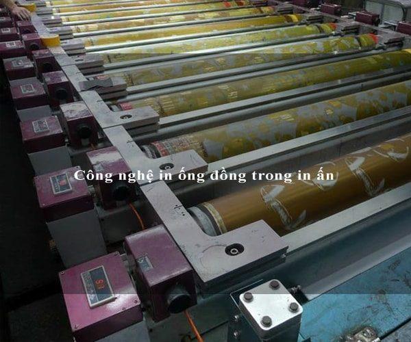 Công nghệ in ống đồng trong in ấn 2