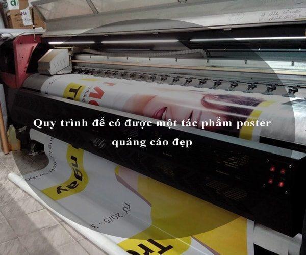 Quy trình để có được một tác phẩm poster quảng cáo đẹp 3
