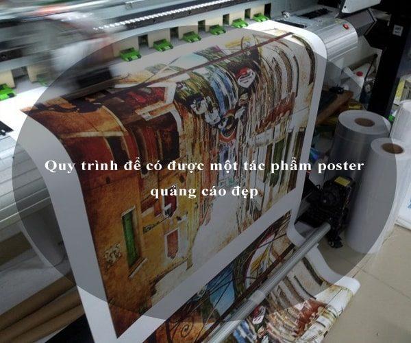 Quy trình để có được một tác phẩm poster quảng cáo đẹp 4