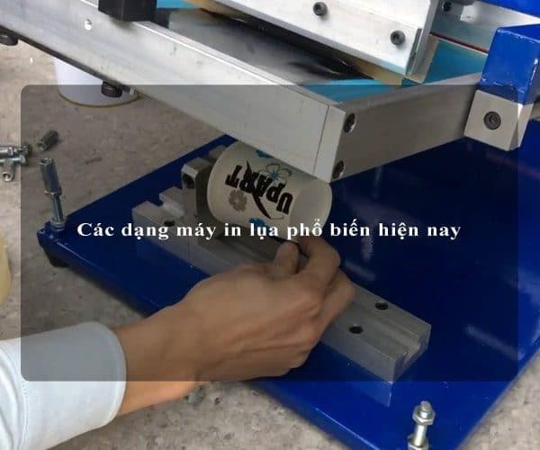 Các dạng máy in lụa phổ biến hiện nay 3