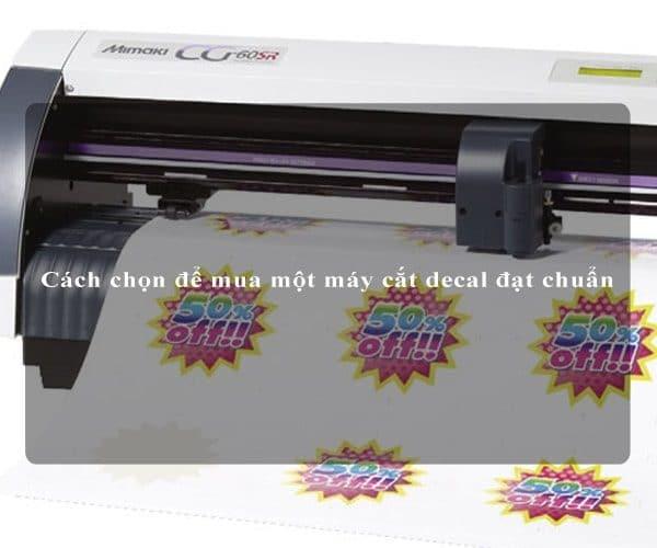 Cách chọn để mua một máy cắt decal đạt chuẩn 4
