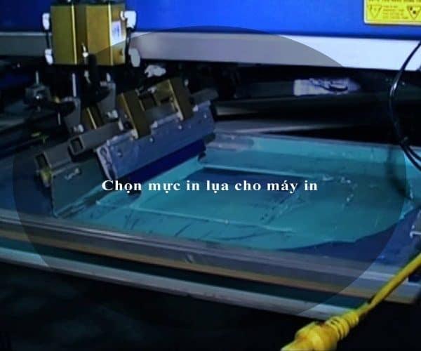 Chọn mực in lụa cho máy in 4