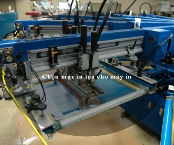 Chọn mực in lụa cho máy in 3