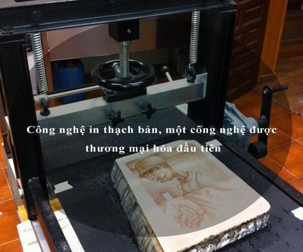 Công nghệ in thạch bản, một công nghệ được thương mại hóa đầu tiên 3