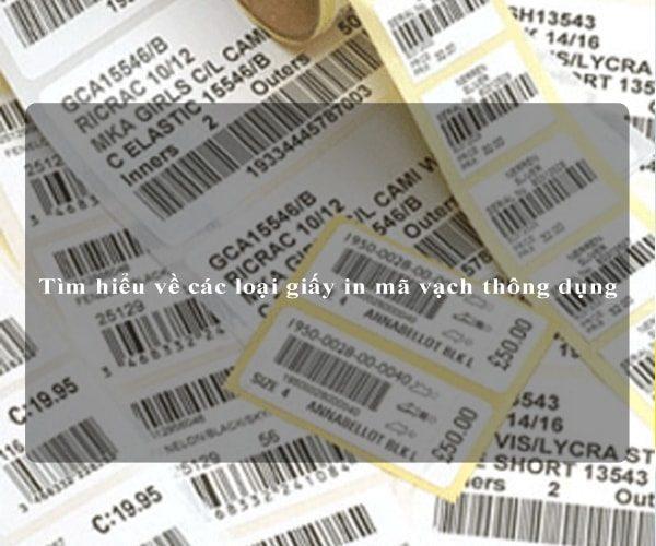 Tìm hiểu về các loại giấy in mã vạch thông dụng 5