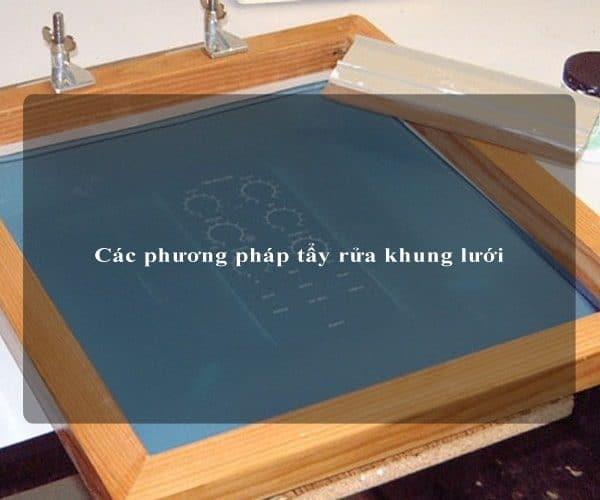 Các phương pháp tẩy rửa khung lưới 2