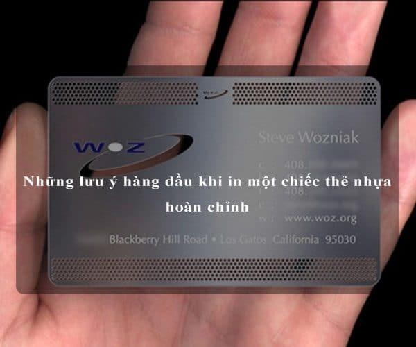 Những lưu ý hàng đầu khi in một chiếc thẻ nhựa hoàn chỉnh 2